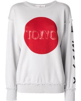 Tokyo Print Sweatshirt