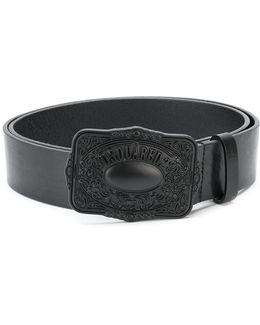 Vintage Style Buckle Belt