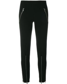 Zip Up Trousers