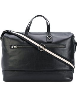 Striped Handle Holdall