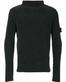 Fitted Roll Neck Sweater