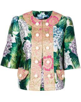Floral Button Jacket