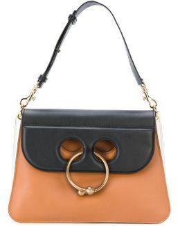 Piercing Applique Tote Bag