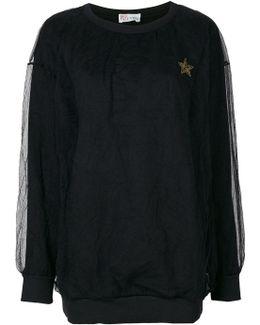 Lace Layer Sweatshirt