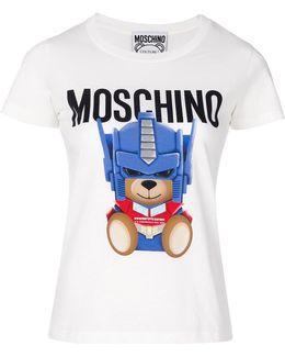 Transformer Bear Slim Fit T-shirt