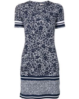 Printed Stretch T-shirt Dress