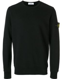 - Long Sleeve Fitted Sweatshirt - Men - Cotton - M