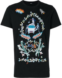 Women Embroidery T-shirt