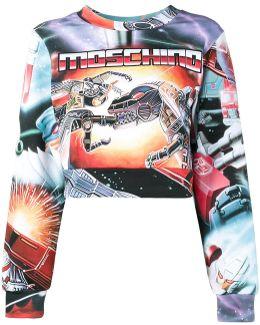 Dino Transformer Sweatshirt