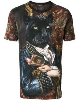 Panther Print T-shirt