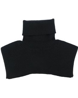 Ribbed Knitted Neckwarmer
