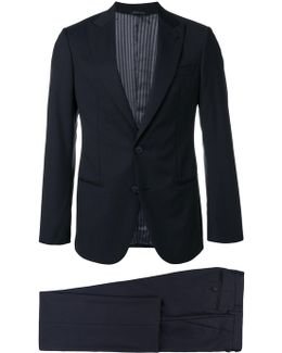 Notched Two-piece Suit