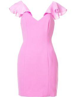 Frill Sleeve Mini Dress