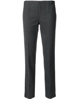 Studded Trim Pants