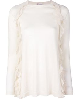 Frilled Knitted Blouse