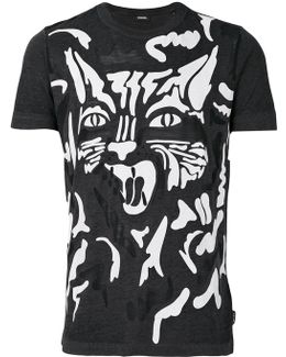 Graphic Cat T-shirt