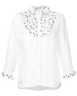 Frill Bib Shirt
