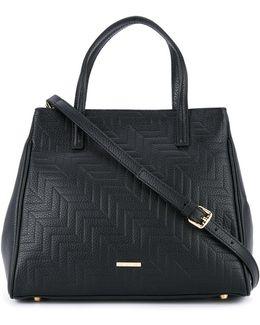 Textured Cross Body Bag
