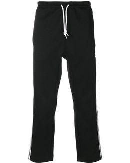 Stripe Detail Sweatpants