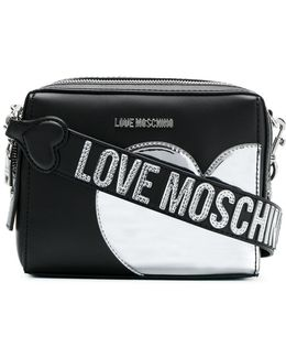 Heart Patch Crossbody Bag