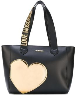 Heart Patch Tote