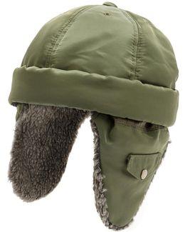 Adjustable Fur Lined Hat