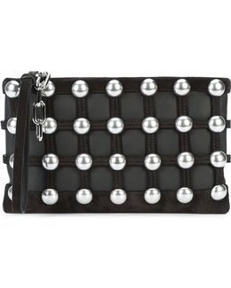 Caged Pouch Clutch Bag