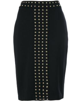Metal Studded Skirt