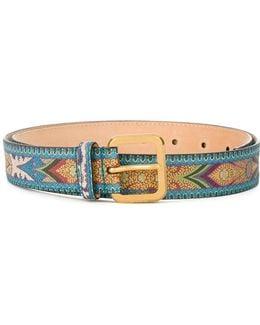 Paisley Pattern Belt