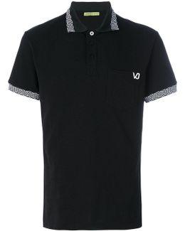 Rear Print Polo Shirt