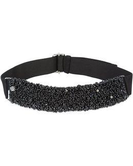Beads Embroidered Headband
