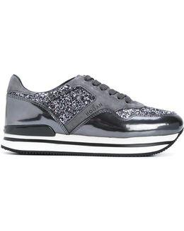 Glitter Effect Sneakers