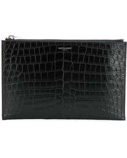 Crocodile Embossed Ipad Mini Case