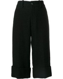 Light Tweed Bermuda Shorts