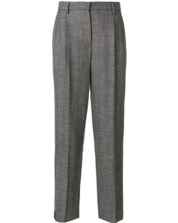 Loose Fit Tailored Trousers