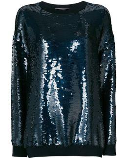 Sequin-embellished Ines Sweatshirt
