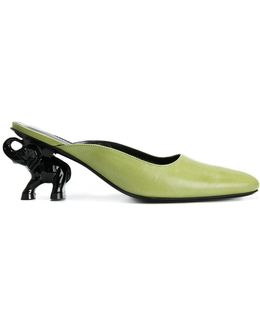 Elephant Heel Mules