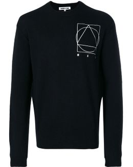 Glyph Embroidered Icon Pullover