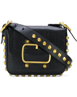 Small Sawyer Stud Shoulder Bag