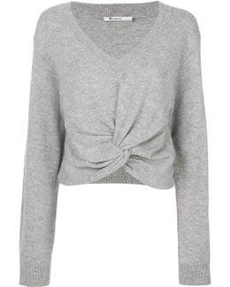Twist Front Sweater