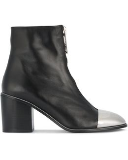Metal Toe Cap Ankle Boots