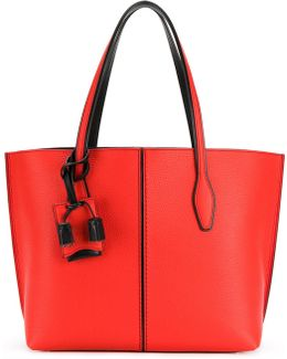 Tote Bag With Luggage Tag
