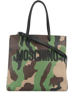 Camouflage Logo Tote