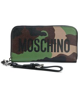 Logo Camouflage Wallet