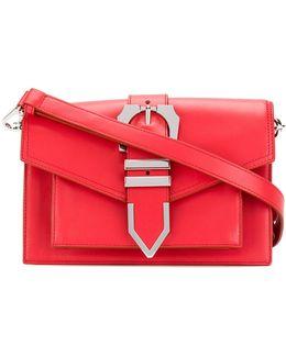 Buckled Strap Shoulder Bag
