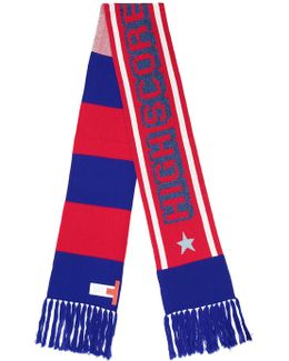 Mascot Striped Long Scarf