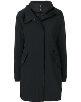 Wide Collar Padded Coat