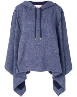 Cape-style Hoodie
