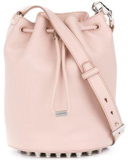 Studded Base Bucket Bag