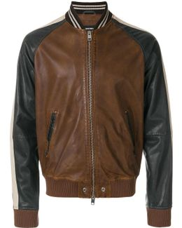 Leather Baseball Jacket